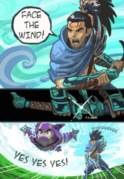 Bros in the wind by Viking-Heart