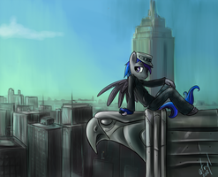 Commission - Lots to See in NYC by atryl
