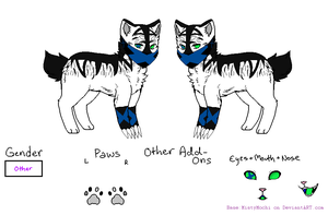 L.M - Character Ref. - Spike by caseVIRUS