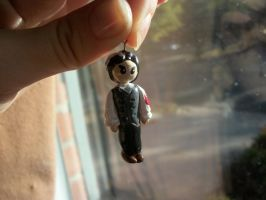 Sweeney Todd Necklace Charm by AshiviAlpha