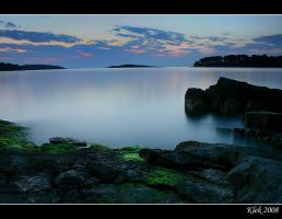 Mljet - Sunset by Klek