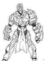 The Warforged by Songsblade