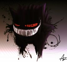 Gengar commission by ShadowChild71