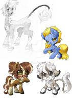 Art Trade Bundle by quila111