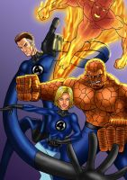 fantastic four by cssp