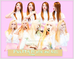 Pack PNG #73: Krystal and Sulli by jimikwon2518