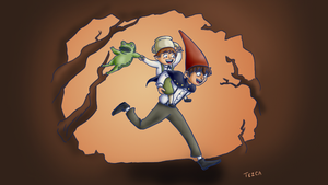 over the garden wall by Titlacahuan