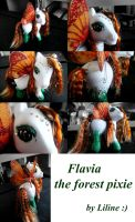 Flavia the Forest Pixie by customlpvalley
