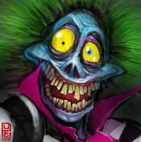 Beetlejuice closeup by Darkdux
