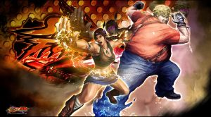 Street Fighter X Tekken: Charming and Chubby by KaboXx