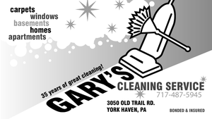 Gary's Cleaning Service by dragonorion