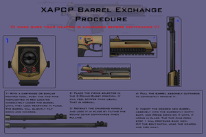APCP Barrel Exchange Instruction pamphlet. by Spatzik