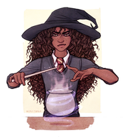 Hermione Granger - Harry Potter by Naimly