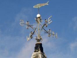 Nautical Weather Vane by agnott