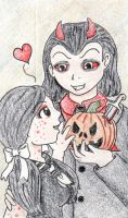 Loving Dead Dolls by FoxyTangerine
