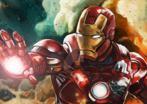 Iron Man. by bekahwithers
