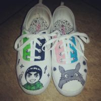 rock lee and totoro-san by Shaolinrachel