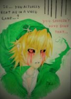 Oh No You Didn't! [BEN Drowned] by Tsukiakari-Aya