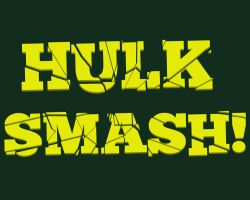 Hulk Smash Text Effect by CMCLEAN-DESIGNS