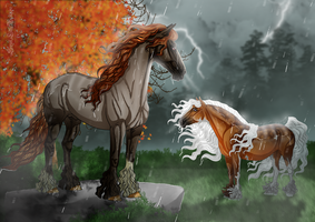 Passing Storms by SweetLittleVampire