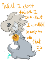Question: Not That Kind of Ghostly by ChloeCorp