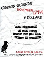 Common Grounds Nov. 17th by paperairplane