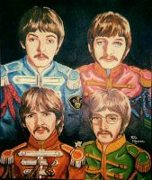 The Beatles by Sphinx47