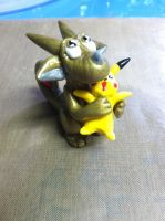 Pikachu and Dragon Finished by froggieg