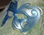 Leather Wind Mask by spiralfaeaccents