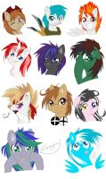 So... many... OCs... by KnifeH