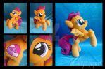 Jumping Scootaloo by LeFay00