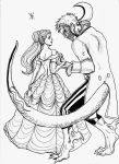 Tale as Old as Time B and W by Mz-D