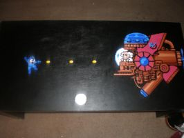 MegaMan 2 coffee table by redroseelcamino