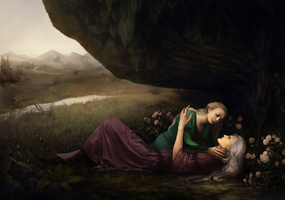 The Beguiling of Merlin by KarlaFrazetty