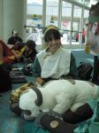 SDCC Fri Toph+Appa by Katsari-chan