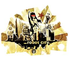 Robot City by Ancorgil
