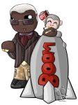 Drebin and Little Gray Chibis by RedPawDesigns