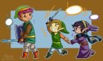 LoZ: Past Between Worlds by 10yrsy