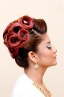 Red Curls by aeniEz