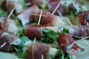 Proscuitto and Pear by spiritbreath