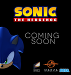 Sonic Movie Poster by TWONIONS