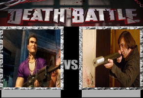 Johnny Gat vs. Anton Chigurh by JasonPictures