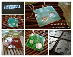 Elements enamel collection by Tchiii-chan