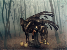 .witch's steed by Mouliny