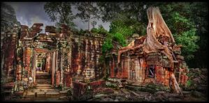 Angkor Wat by Drchristophers
