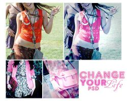 change your life psd by memoriesinsecret