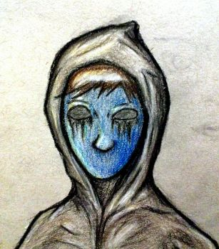 Eyeless Jack - Colored by Bastasketch