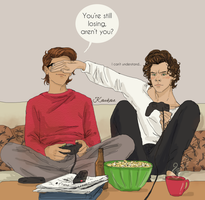 TS household - day according to Louis by Itskaraoke