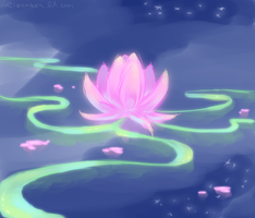 Lotus by Riocakes