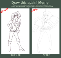 MEME: Draw this again by kimikoH-chan